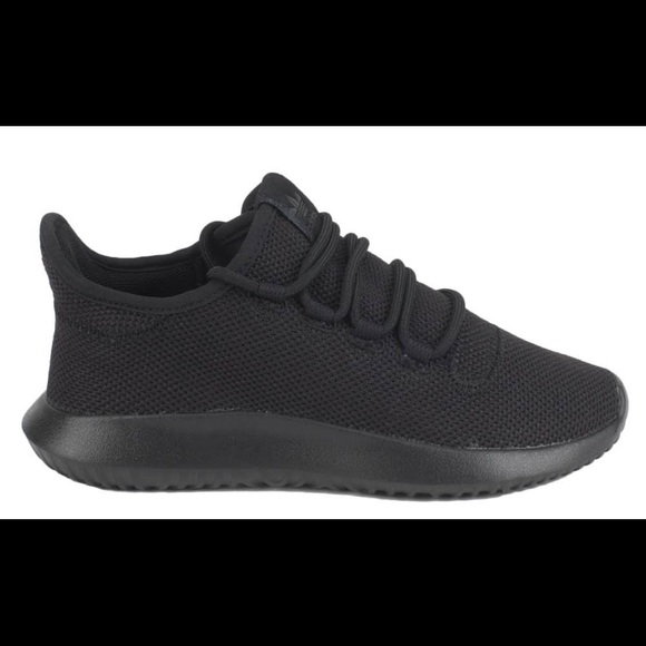 All Black Adidas Tubular Ortholites